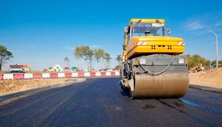 Evenrange Construction of road